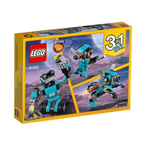 61drmIMZunL. SS600  - LEGO Creator - Robot Explorador (31062)