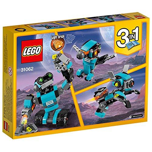 61drmIMZunL - LEGO Creator Robot Explorador (31062)
