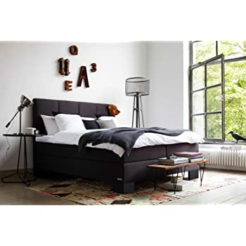 schlaraffia aktions boxspringbett saga anthrazit 180x200. Black Bedroom Furniture Sets. Home Design Ideas