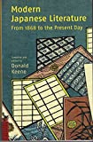 Front cover for the book Modern Japanese Literature: From 1868 to the Present Day by Donald Keene