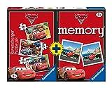 Ravensburger 7227 Cars Box mit 3 Puzzle + Memory Spiel