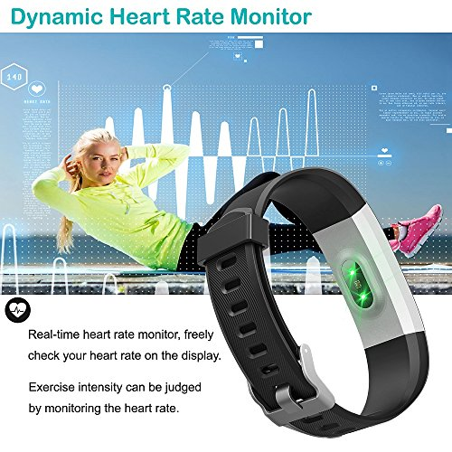 61ds eplDXL. SS500  - YAMAY Fitness Trackers,Fitness watch with Heart Rate Monitor Waterproof IP67 Smart Watches Pedometer Watch Activity Trackers Watch Step Counter for Kids Women Men Call SMS Push for iOS Android Phone