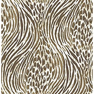 Animal Print Wallpaper A Street Prints Metallic Gold Copper Brown Beig