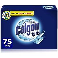 Calgon 2en1 Tabs Adoucisseur d'Eau Contre la Chaux et la Saleté dans la Machine à laver - 75 tablettes