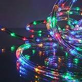 Gartenpirat LED Lichtschlauch Multicolor 9 m für Garten Innen