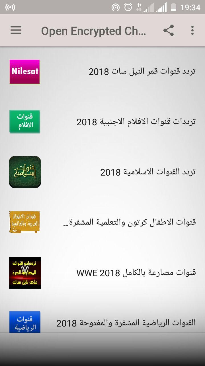 NILESAT CHANNELS FREQUENCY 2019 - تردد قناة كويست عربية على