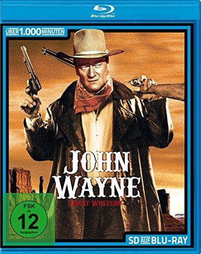 John Wayne - Die große Blu-ray Box mit 23 Filmen