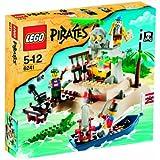 Lego 6243 jeu de construction pirates le bateau pirate jeux et jouets - Ile pirate lego ...