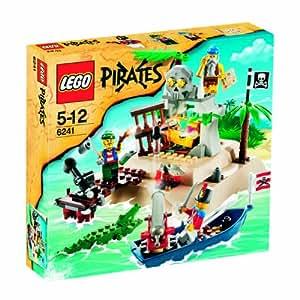 Lego 6241 jeu de construction pirates l 39 le au tr sor jeux et jouets - Ile pirate lego ...