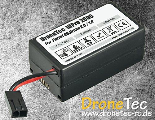 Power Tuning Batteria * 2000mAh * per Parrot AR Drone 1.0/2.0