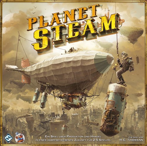Asmodee HE539 - Planet Steam Brettspiel