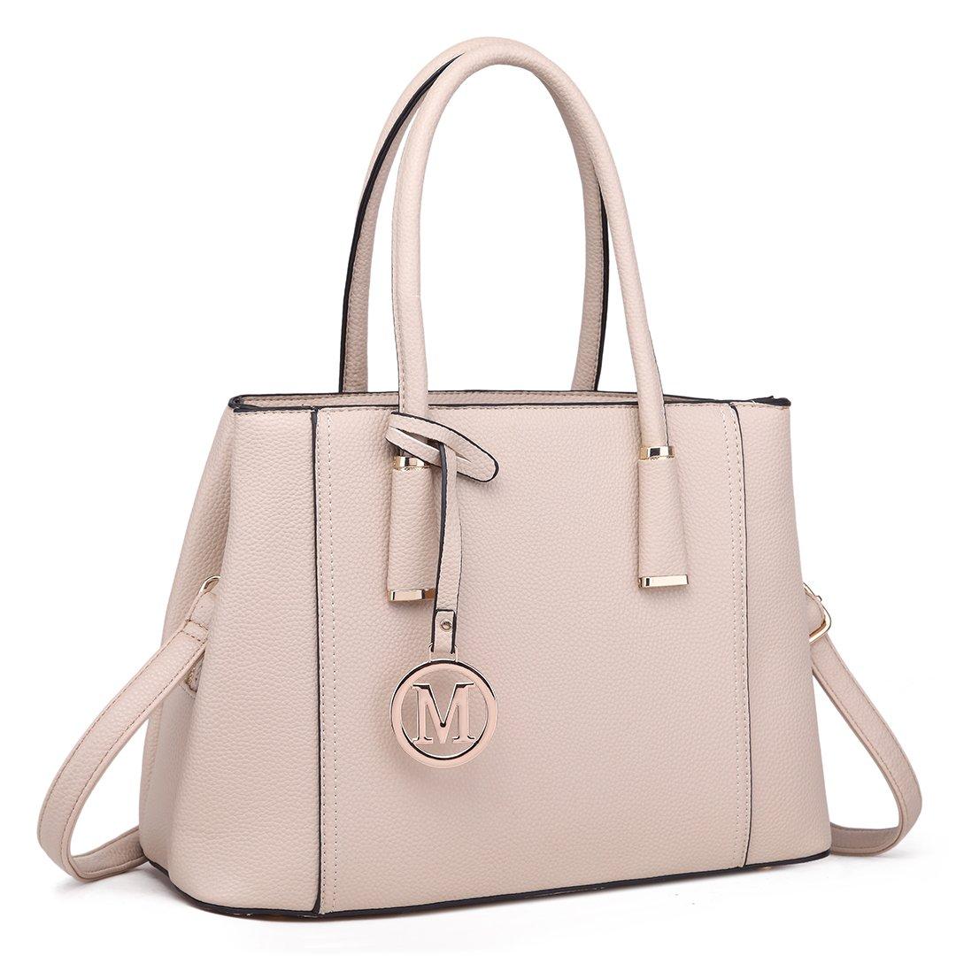 Miss Lulu Leather Look V-Shape Shoulder Handbag Elegant Design Top ... d53bae825be3c