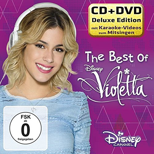 The Best of Violetta-Deluxe CD+DVD (Violetta Dvd Disney)