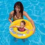 #2: KriTech Inflatable Baby Float Ring Swimming Pool Toys for Babies & Toddlers - 26.5