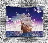 Arte de diseño contemporáneo Tapicería impresa Mandala Wall Hanging Beach Throw Home Decor , 7 , 150*130cm