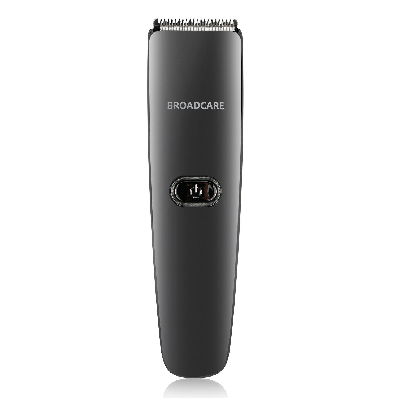 BROADCARE Tagliacapelli Elettrico Impermeabile Ricaricabile Grooming Kit - Nero