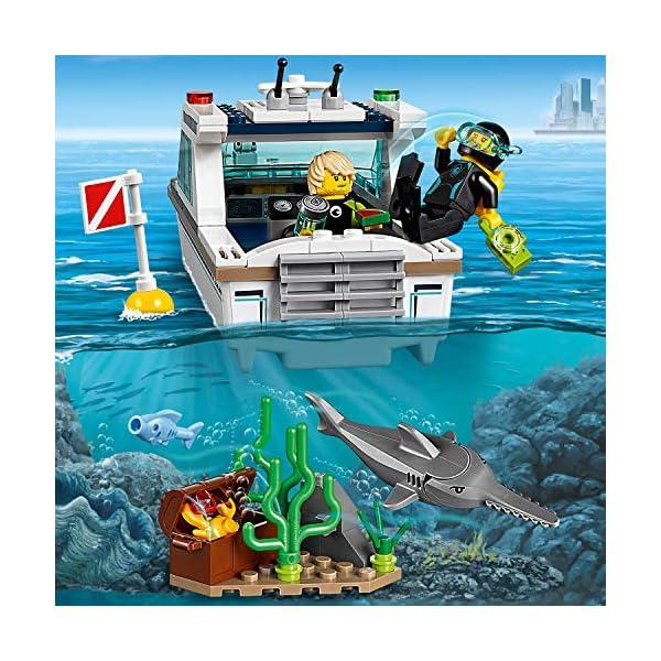 LEGO City - Yacht per immersioni, 60221 5 spesavip