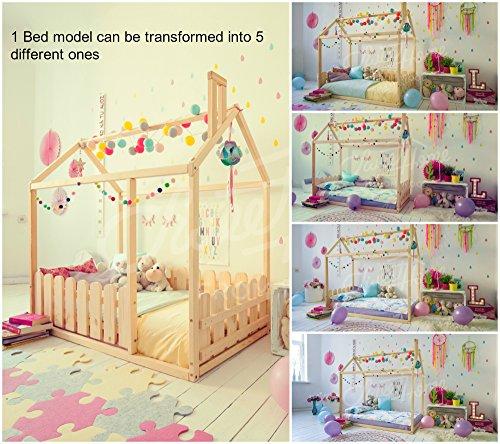 Imagen para Montessori casa de la cama. El colchón está directamente en el piso. (200x90cm)