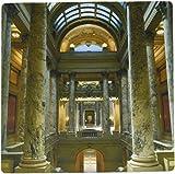 3drose LLC 20,3x 20,3x 0,6cm State Capitol Building ST. PAUL Minnesota Keith und Snell Mauspad (MP 91391Schleifklotz 1)