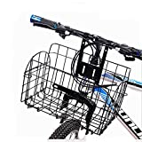 SYSI Mountainbike Korb Faltbare Korb-34*24*20CM (Schwarz)