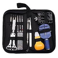 BABAN 30PC Kit de herramientas de reparación de relojes, reloj pines abridor remover relojero herramienta de reparación profesional kit caso