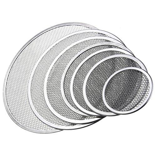 DyNamic Nahtlose Rim Aluminium Mesh Pizza Bildschirm Backblech Net Backformen Kochen Werkzeuge - 9 Zoll
