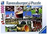 Ravensburger 19517 - Die Schweiz - 1000 Teile Puzzle