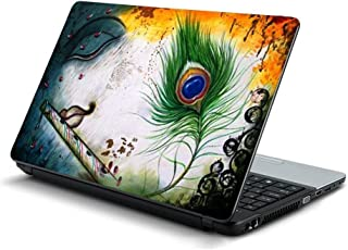 Gadgets WRAP Krishna Eyes Feather Laptop Decal for 15.6 inch Laptop 15x10