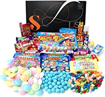 Retro Sweets Hamper: Just Treats Solar Gift Hamper: Jam Packed with the Best Ever Retro Sweets