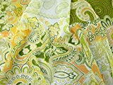 Minerva Crafts Paisley Print Crinkle Chiffon Kleid Stoff