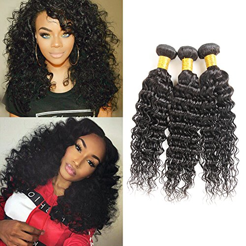 azilian Hair 3 Bundles Virgin Hair With Natural Color Unprocessed Real Human Hair Extensions 8 - 28 Inches (Halloween Steam Sales)
