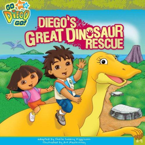Diego's Great Dinosaur Rescue (Go, Diego, Go! (8x8))