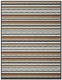 Biederlack Wohn- und Kuscheldecke, 86 % Polyacryl (Dralon), Veloursband-Einfassung, 150 x 200 cm, Grau/Kamel, Thermosoft Top Avalon, 646651