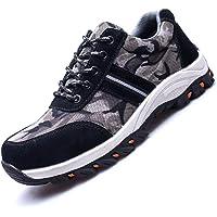 Chaussures de sécurité Hommes Femmes Chaussures de Travail doublées Chaussures de Protection imperméables avec Bout en…