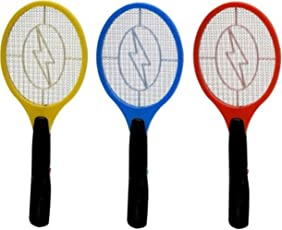 WebelKart Recharable Electric Insect Killer Mosquito Racket For Mosquito & Insect Free Homes