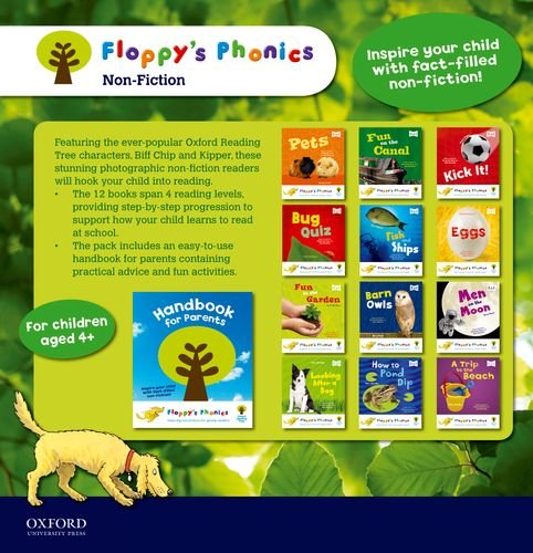 floppys-phonics-non-fiction-13-books-set-with-handbook-for-parents-petsfun-on-canal-kick-it-bug-quiz