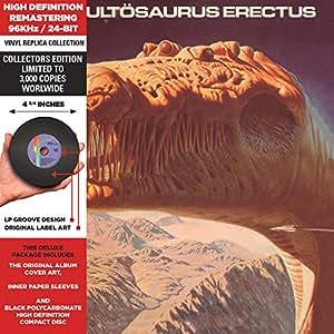 Cultosaurus Erectus - Cardboard Sleeve - High-Definition CD Deluxe Vinyl Replica
