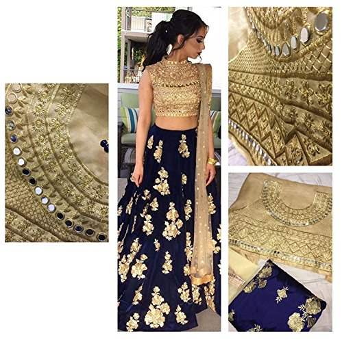 Ultrasav Women's Party Wear New Year Collection Special Sale Offer Bollywood Navy...