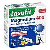 TAXOFIT Magnesium 400+B1+B6+B12+Folsäure 800 Gran. 20 St Granulat