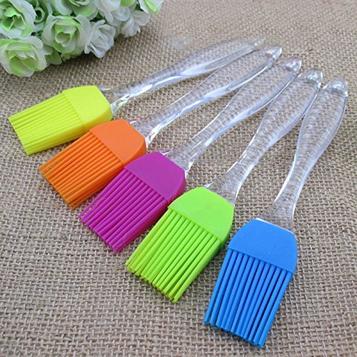 Everything Imported ™ 1 Piece Premium Quality Silicone Pastry Brush - For Cake Mixer, Decorating, Cooking, Baking, Glazing, Barbeque, BBQ Pastry