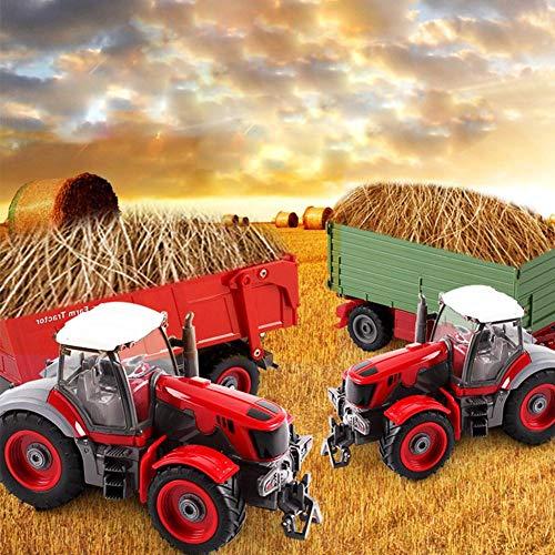 RC Auto kaufen Traktor Bild 5: 332PageAnn Rc Ferngesteuerter Traktor Spielzeug Mit Anhänger - 6 Kanal 1:28 Simulationsfahrzeug Geburtstagsgeschenk Für Kinder*