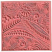efco 9500501 Texturmatte, Naturkautschuk, 9 x 9 x 0,3 cm, braun