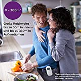 Philips Avent Audio-Babyphone SCD733/26, DECT-Technologie, Eco-Mode, Sternenhimmel, 18 Std. Laufzeit - 4