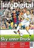 Info Digital Infosat 3 2018 DAZN Sky Messi Zeitschrift Magazin Einzelheft Heft Sat Kabel Digital TV Internet-TV