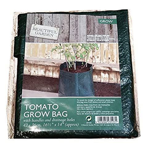 Reusable Fabric Tomato Grow Bag For Home Gardeners! Also Works
