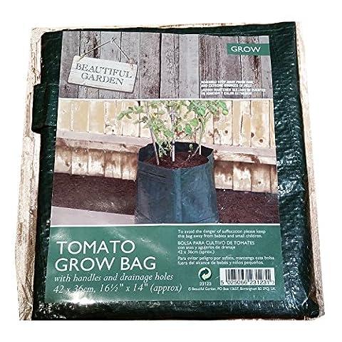 Reusable Fabric Tomato Grow Bag For Home Gardeners! Also Works for Peppers and Herbs! Sac de Tomates / Tomatentasche / Sacchetto di Pomodoro / Bolsa de