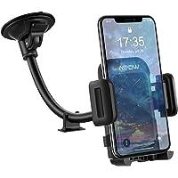 Mpow Handyhalter fürs Auto KFZ Smartphone Halterung,Windschutzscheiben Handyhalterung Auto,Verbesserte Handy Halter für Auto für iPhone11/11 pro/11 pro max/XS/8/7/6/5,Galaxy9/8/7/S9/Note9,Google,HTC