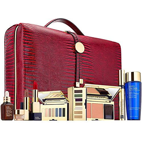 Estee Lauder Tasche (Estee Lauder Blockbuster Collection 2017 Make-Up Set in Case)