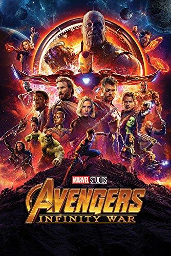 Marvel Comics Avengers: Infinity War (una hoja) Maxi Póster, multicolor, 61 x 91,5 cm