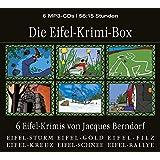 Die Eifel-Krimi-Box (6 Eifel-Krimis von Jacques Berndorf, Gesamtlaufzeit 56:15 Stunden, ungekürzte Lesung auf 6 MP3-CDs)